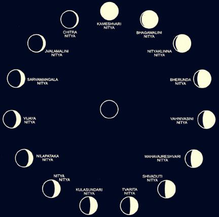 Name Of The Phases Of The Moon In Order on Oreo Cookie Moon Phases